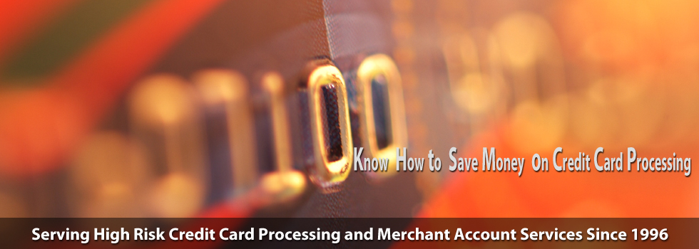 Save your money with credit card processing