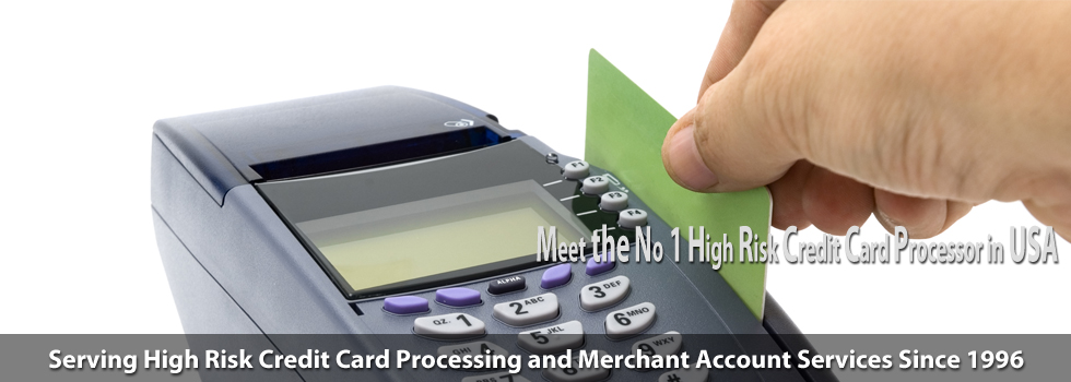 No 1 High risk credit card processor in the USA